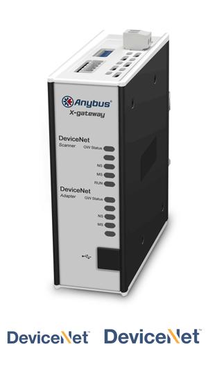 Anybus X-gateway – DeviceNet Scanner - DeviceNet Adapter
