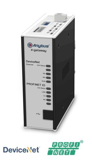Anybus X-gateway – DeviceNet Scanner - PROFINET-IO Device