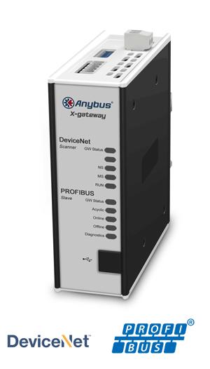 Anybus X-gateway – DeviceNet Scanner - PROFIBUS Slave