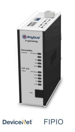 Anybus X-gateway – DeviceNet Scanner - FIPIO Slave
