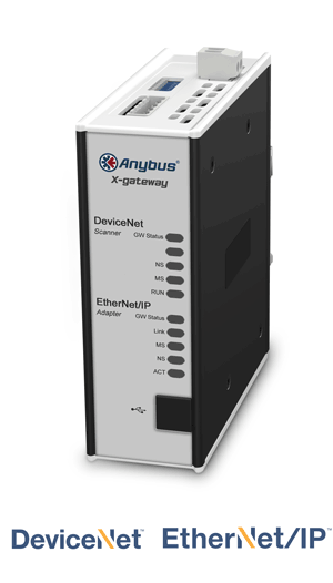 Anybus X-gateway – DeviceNet Scanner - EtherNet/IP Adapter