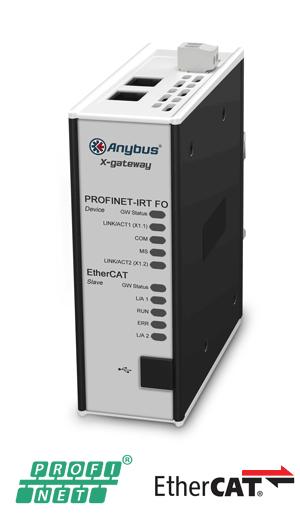 Anybus X-gateway – EtherCAT Slave - PROFINET-IRT FO Device