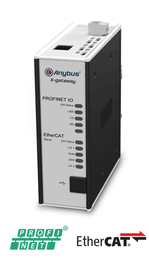 Anybus X-gateway – EtherCAT Slave - PROFINET-IO Device