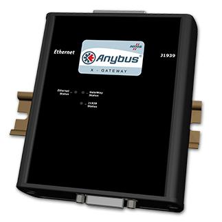 Anybus X-gateway – Ethernet Adapter/Server – J1939