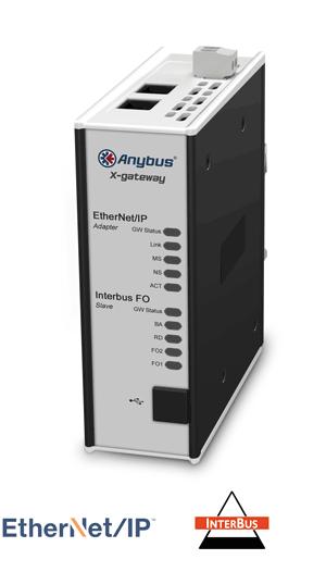 Anybus X-gateway – EtherNet/IP Adapter- Interbus FO Slave