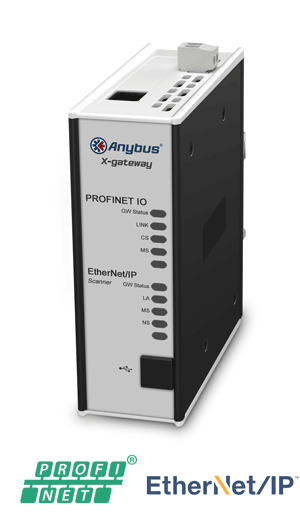 Anybus X-gateway – EtherNet/IP Scanner - PROFINET-IO Device