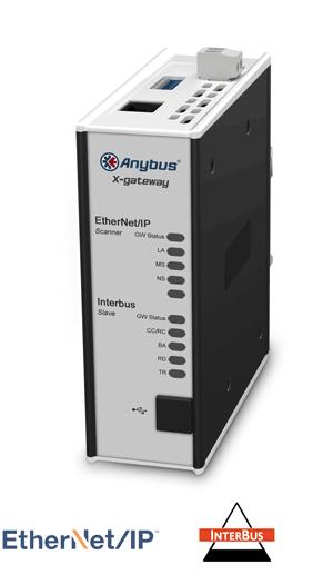 Anybus X-gateway – EtherNet/IP Scanner - Interbus CU Slave