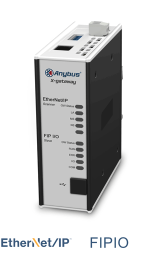 Anybus X-gateway – EtherNet/IP Scanner - FIPIO Slave