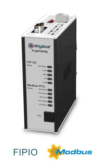 Anybus X-gateway – FIPIO Slave - Modbus RTU Slave