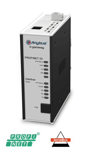 Anybus X-gateway – Interbus CU Slave - PROFINET-IO Device
