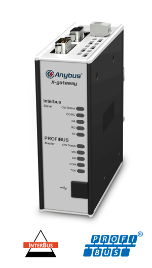 Anybus X-gateway – PROFIBUS Master - Interbus CU Slave