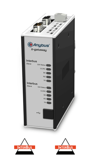 Anybus X-gateway – Interbus CU Slave - Interbus CU Slave
