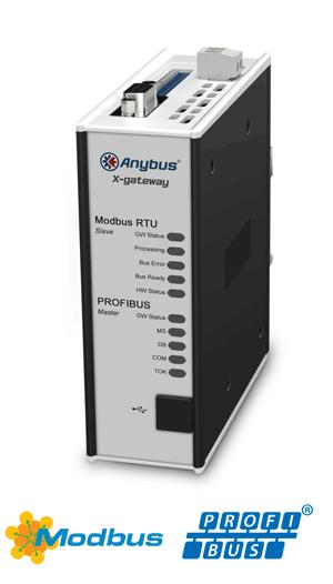Anybus X-gateway – PROFIBUS Master – Modbus RTU Slave