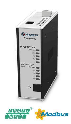 Anybus X-gateway – Modbus TCP Server – PROFINET-IO Device