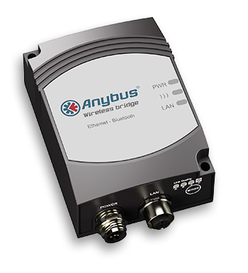 Anybus Wireless Bridge - Ethernet - Bluetooth