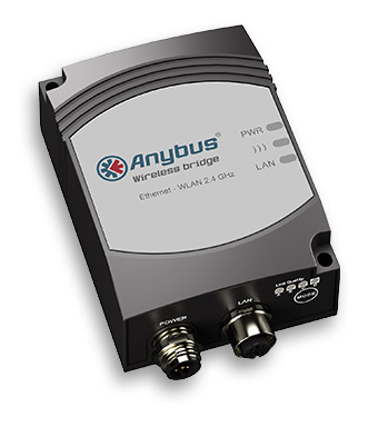 Anybus Wireless Bridge - Ethernet - WLAN 2.4 Ghz