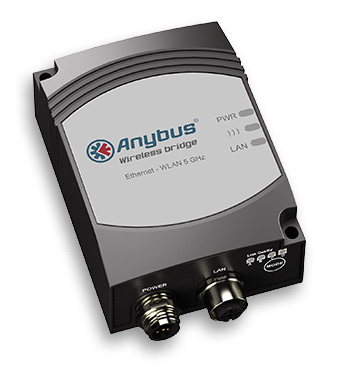 Anybus Wireless Bridge - Ethernet - WLAN 5 Ghz