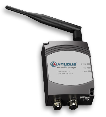 Anybus Wireless Bridge - Ethernet - WLAN Dual Band 2.4/5 Ghz