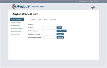 Wireless Bolt Configuration Setup