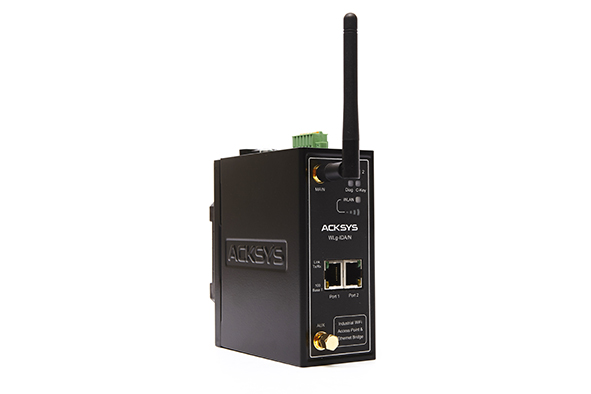 WLg-IDA-N WiFi access point, 2-port Ethernet bridge & WDS repeater