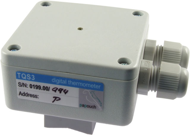 TQS3 P - RS485 thermometer to be placed on a pipe