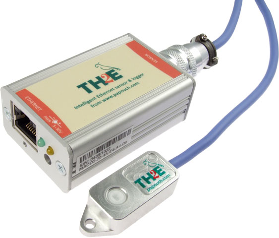 TH2E with temperature and humidity sensor