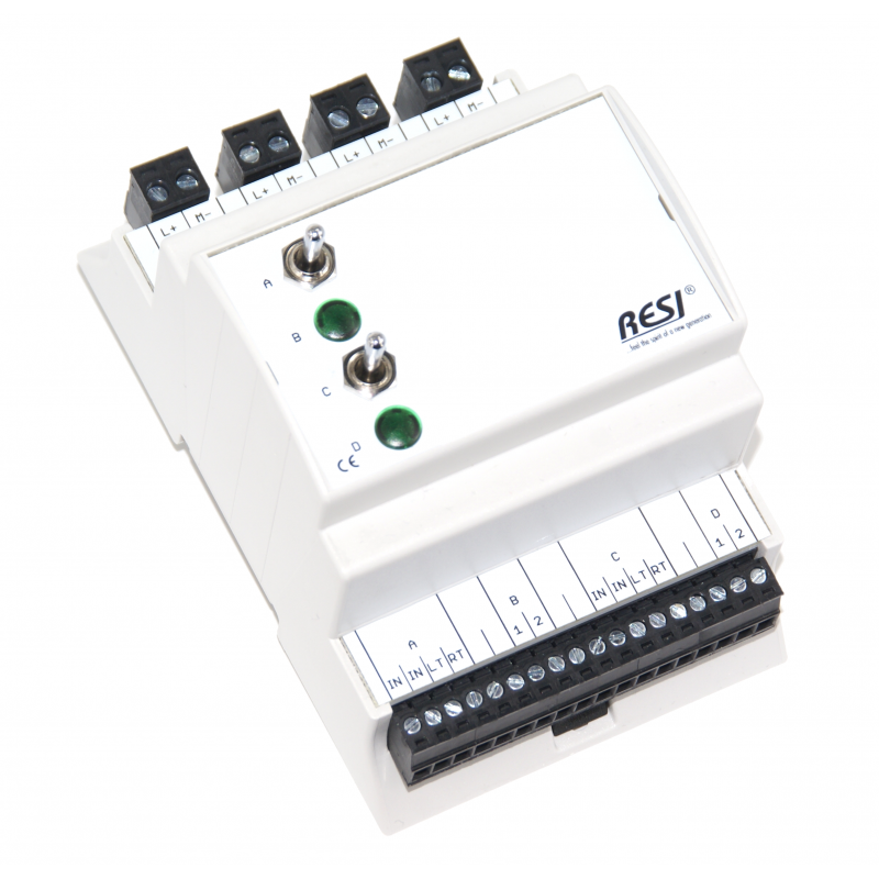 RESI-UI-2SW2L-GN
