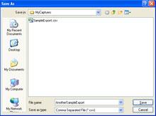 NetDecoder Frame Export
