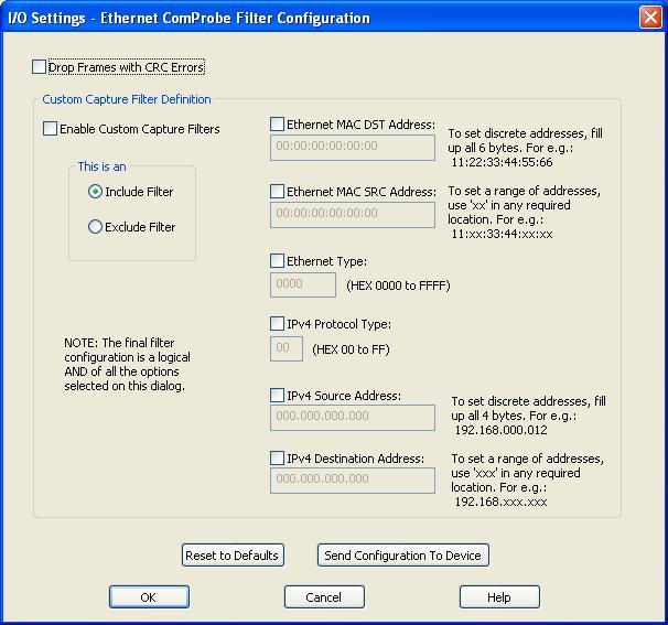 ER-Soft - Ethernet ComProbe