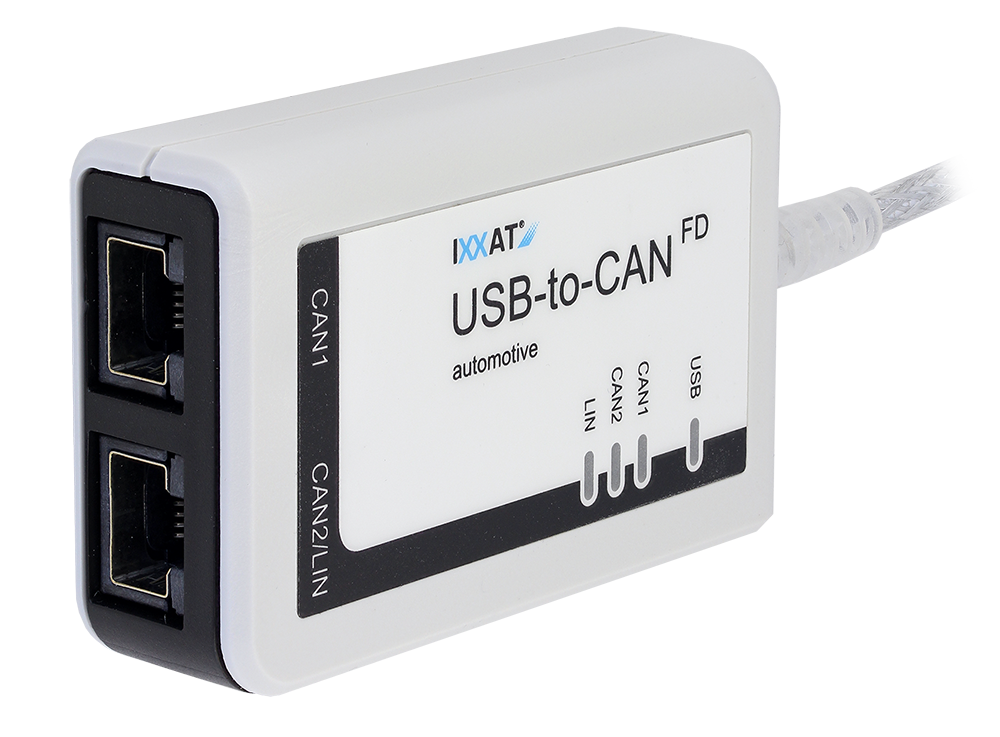 USB-to-CAN FD automotive