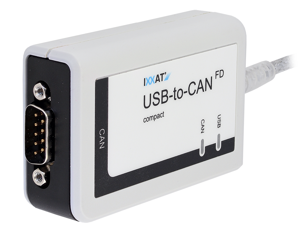 USB-to-CAN FD compact
