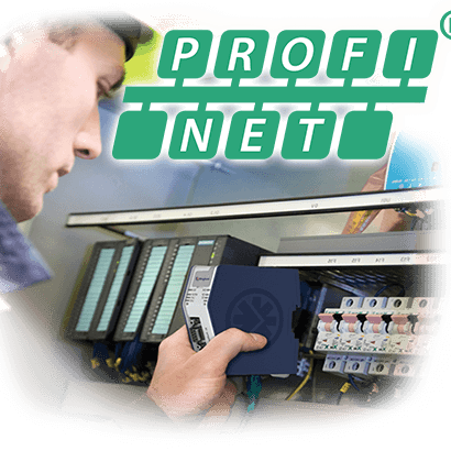 Red industrial profinet